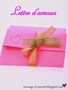 lettre d'amour pour un homme