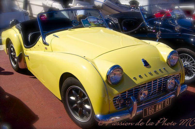 passion de la photo: expo. de voitures anglaises de collection (var)