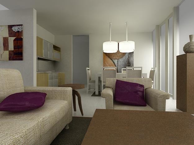 rumah minimalis interior ruang makan minimalis gambar