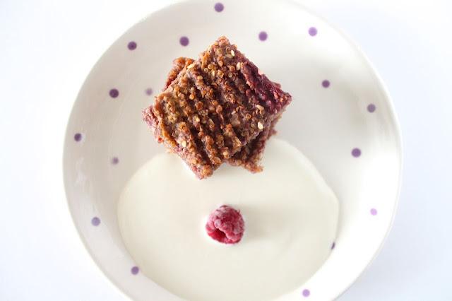 quinoa flapjack recipe
