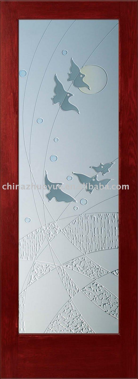 Cristales para puertas portones puertas de madera - Puertas de interior con cristales ...