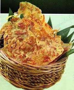 Resep membuat rempeyek udang rebon