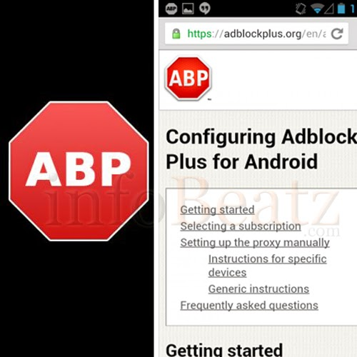 Disable ads on your android smartphone