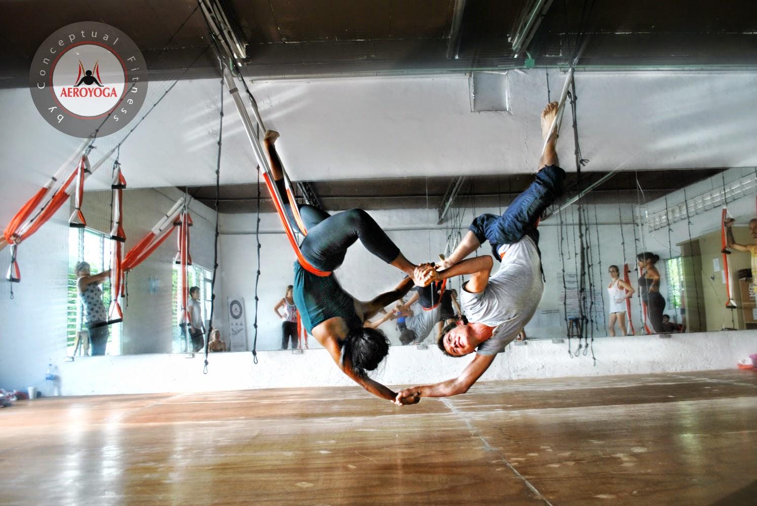 aerial yoga México