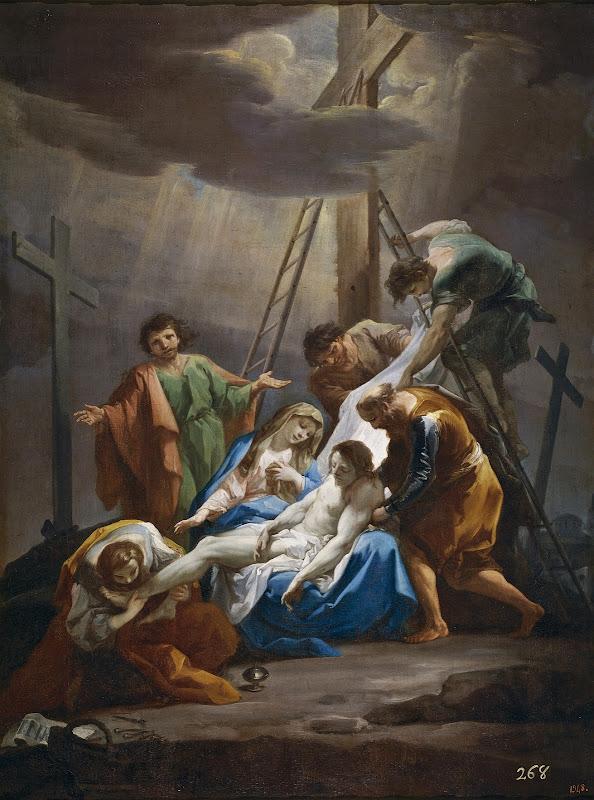 Corrado Giaquinto - El Descendimiento 1754