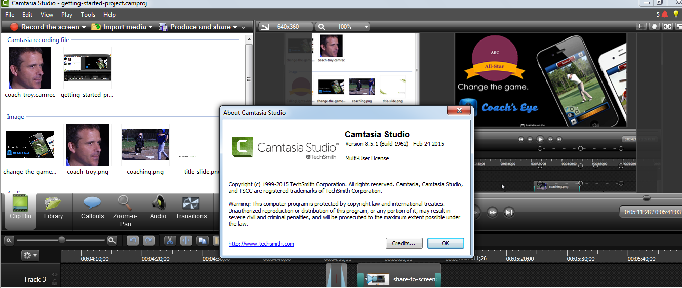 Download Camtasia Studio 86 Full + Hướng Dẫn Ci