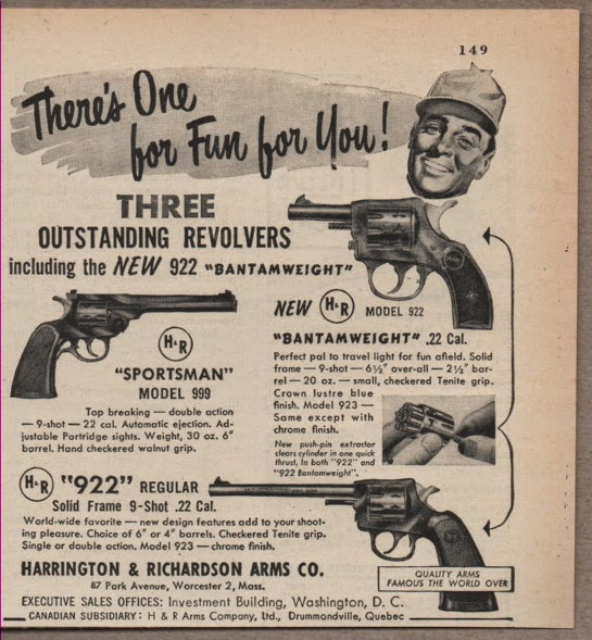 TINCANBANDIT's Gunsmithing: H&R Sportsman 999 Revolver