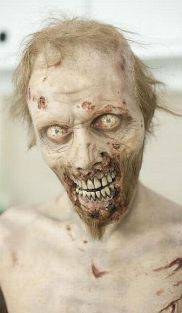 "Como maquillan a los zombies en ""The Walking Dead"""