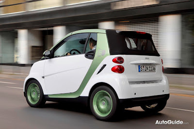 Smart Fortwo , Electric Car , electric drive, smart car,  Sarkozy