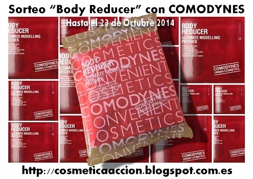 "¡SORTEO – los parches reductores ""Body Reducer"" de COMODYNES"""