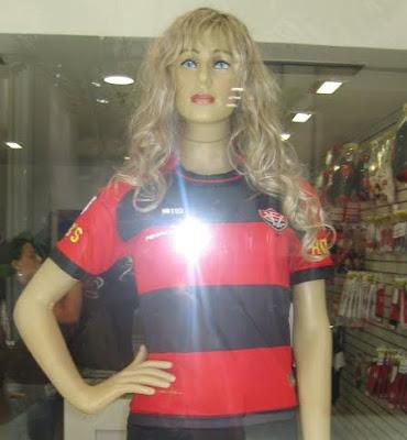 Camisa 1 feminina do Vitória 2011 Penalty