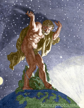Image result for atlas holding the sky