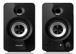 Rediff: Buy Philips SPA1260/12 2.0 Channel Multimedia Speakers at Rs. 800