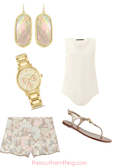 summer weekend getaway outfit