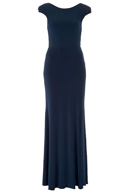 petrol blue dress