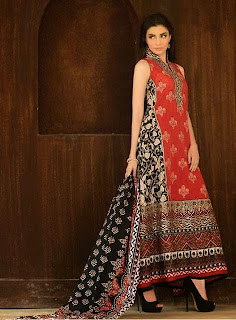 Umar Sayeed latest Embroidered Dresses Collection 2013