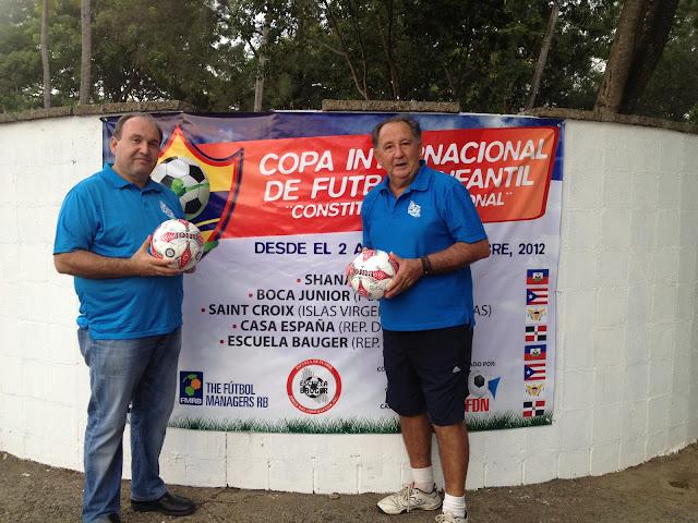 Tres equipos extranjeros y dos nacionales  disputaran la  1ra. Edición de la Copa Constitución Nacional.