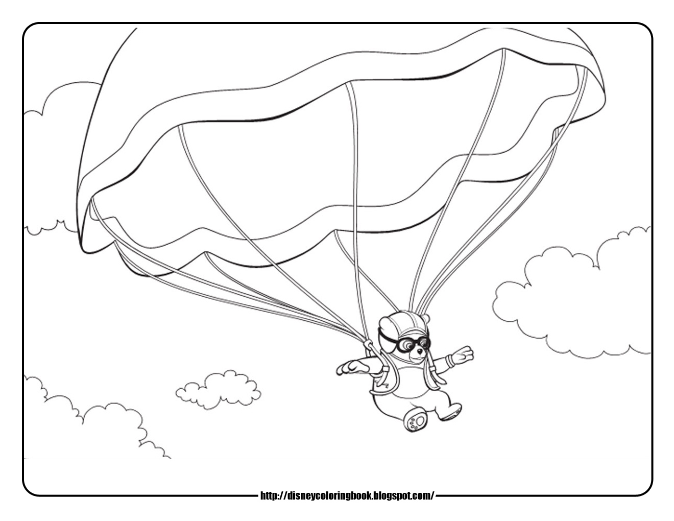 Disney Coloring Pages and Sheets for Kids: Special Agent Oso 2: Free ...
