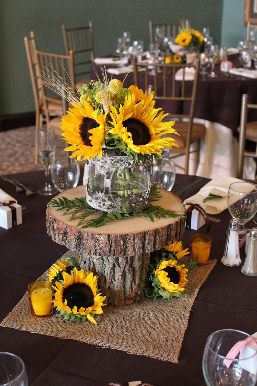 Savannah s garden kristin fall sunflower wedding at
