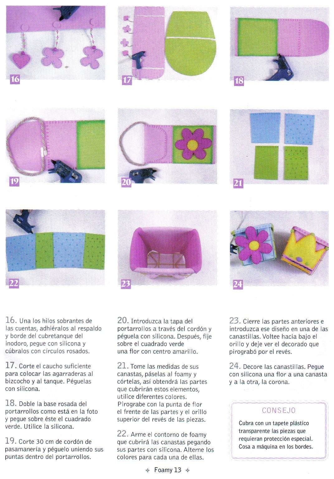 Juegos De Baño Foami:juegos de baños con Flores