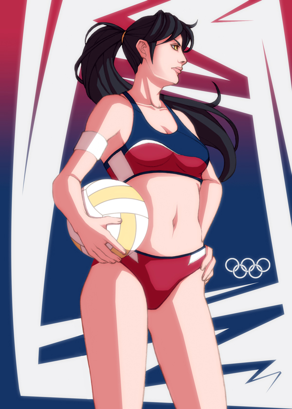 Olympic Beach Volleyball por MGilhang