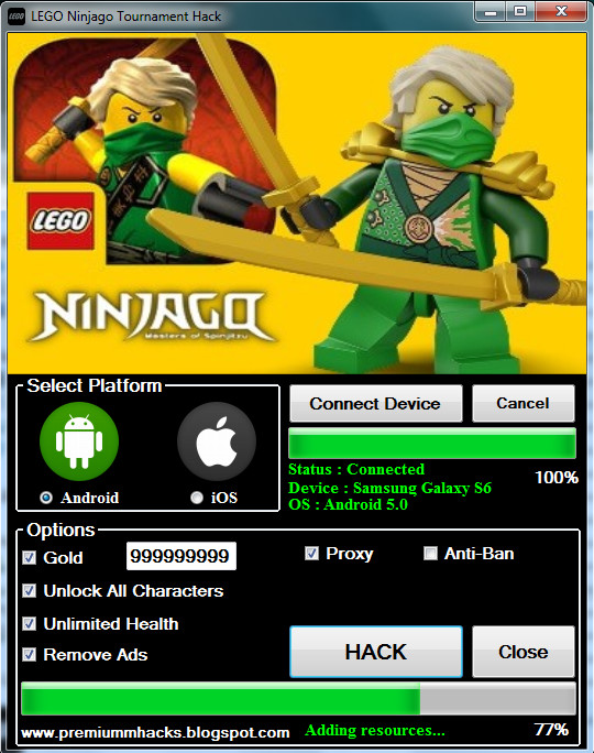 LEGO Ninjago Tournament Hack No Survey No Password Free!(Working ...