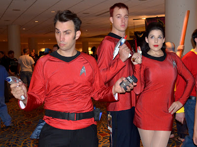 Trekkers at Dragon*Con 2012