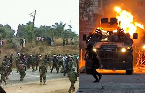 sabotage nigerian military