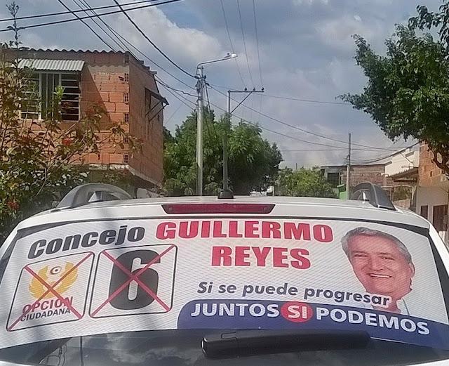 Guillermo Reyes Concejal de Cúcuta #6 por Opción Ciudadana visita Chapinero #CúcutaNOTICIAS