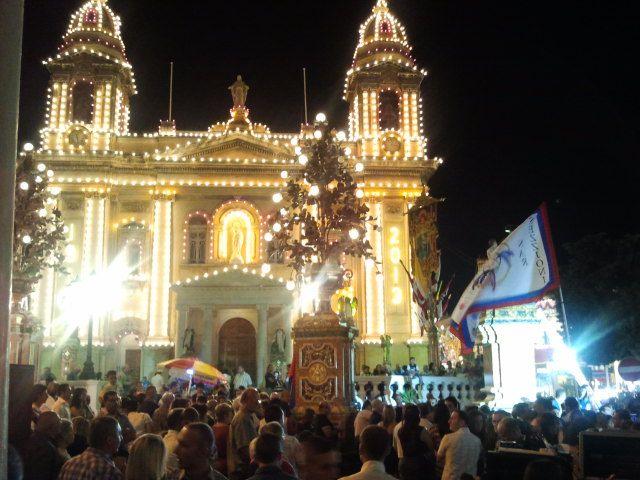 Festa w miejscowości Marsa, Malta