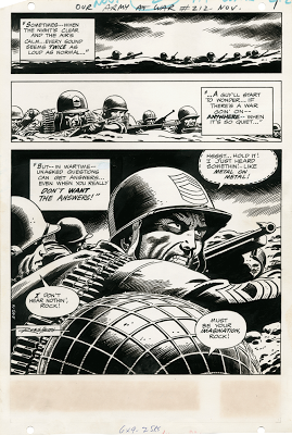 Russ Heath. Flesh and Steel. El arte de Russ Heath