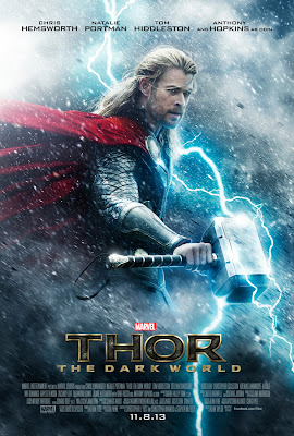 thor the dark world, poster