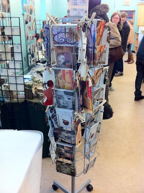 mixed media artist, gifts of my hands, nici shipway, art show