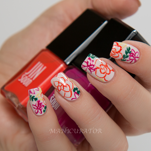 Jin-Soon-Tila-March-Freehand-Flower-Nail-Art