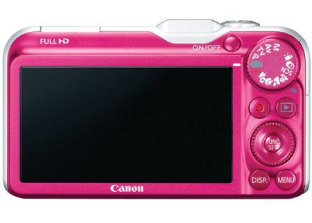 3 Inch LCD Display PowerShot SX220 HS