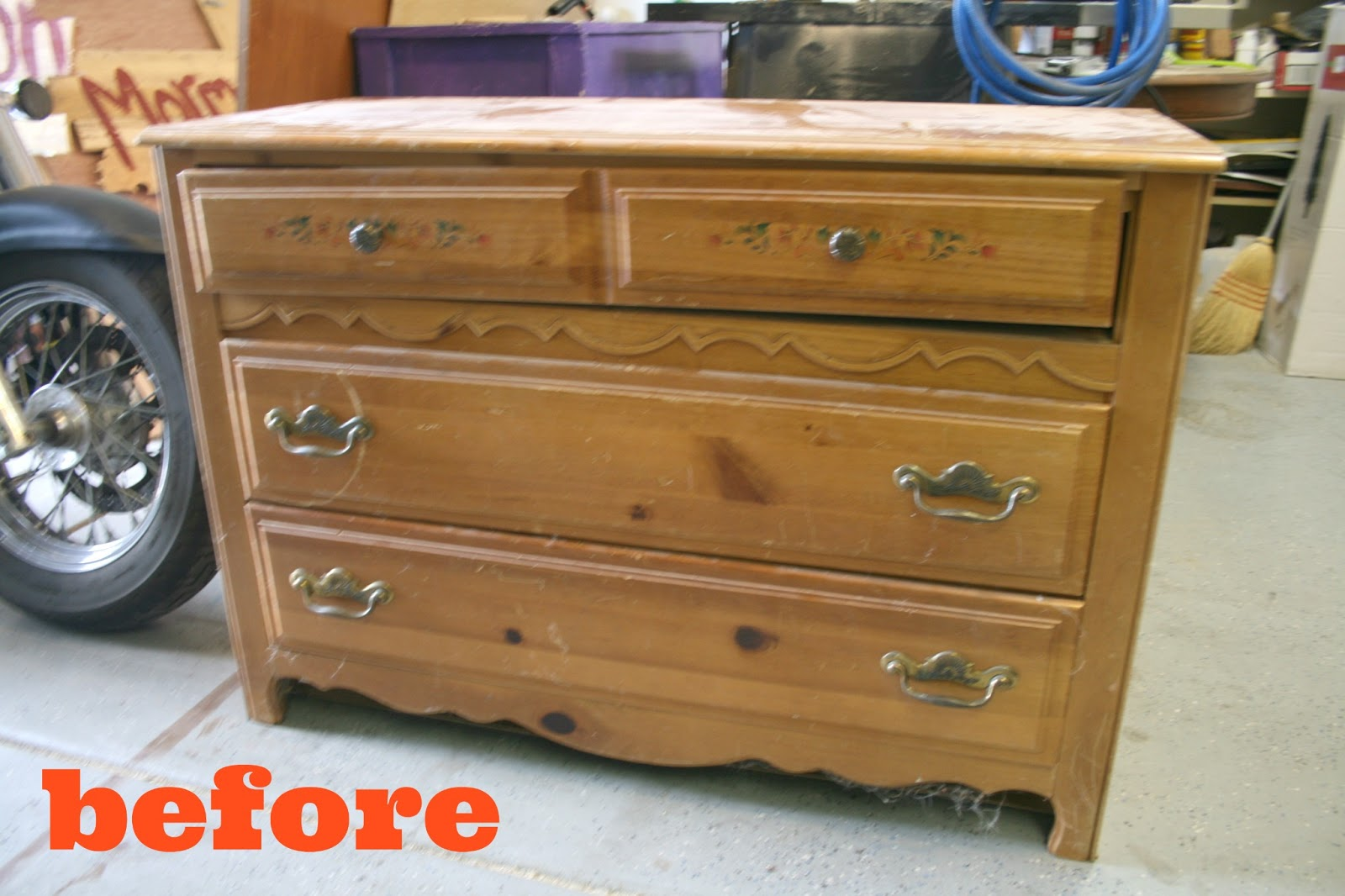 DIY Dark Antiquing Wax (And A Dresser Re Do)