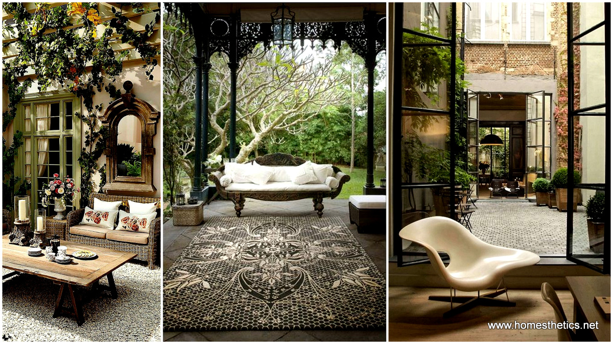 15 of the most elegant patio designs you have ever for Elegant patios