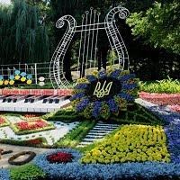 Выставка цветов к Дню Незалежности 2016