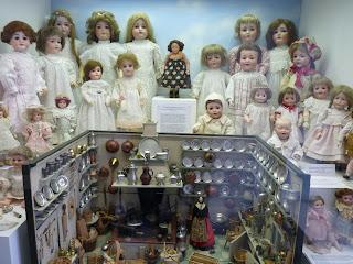 Colección de muñecas del Spielzeugmuseum.
