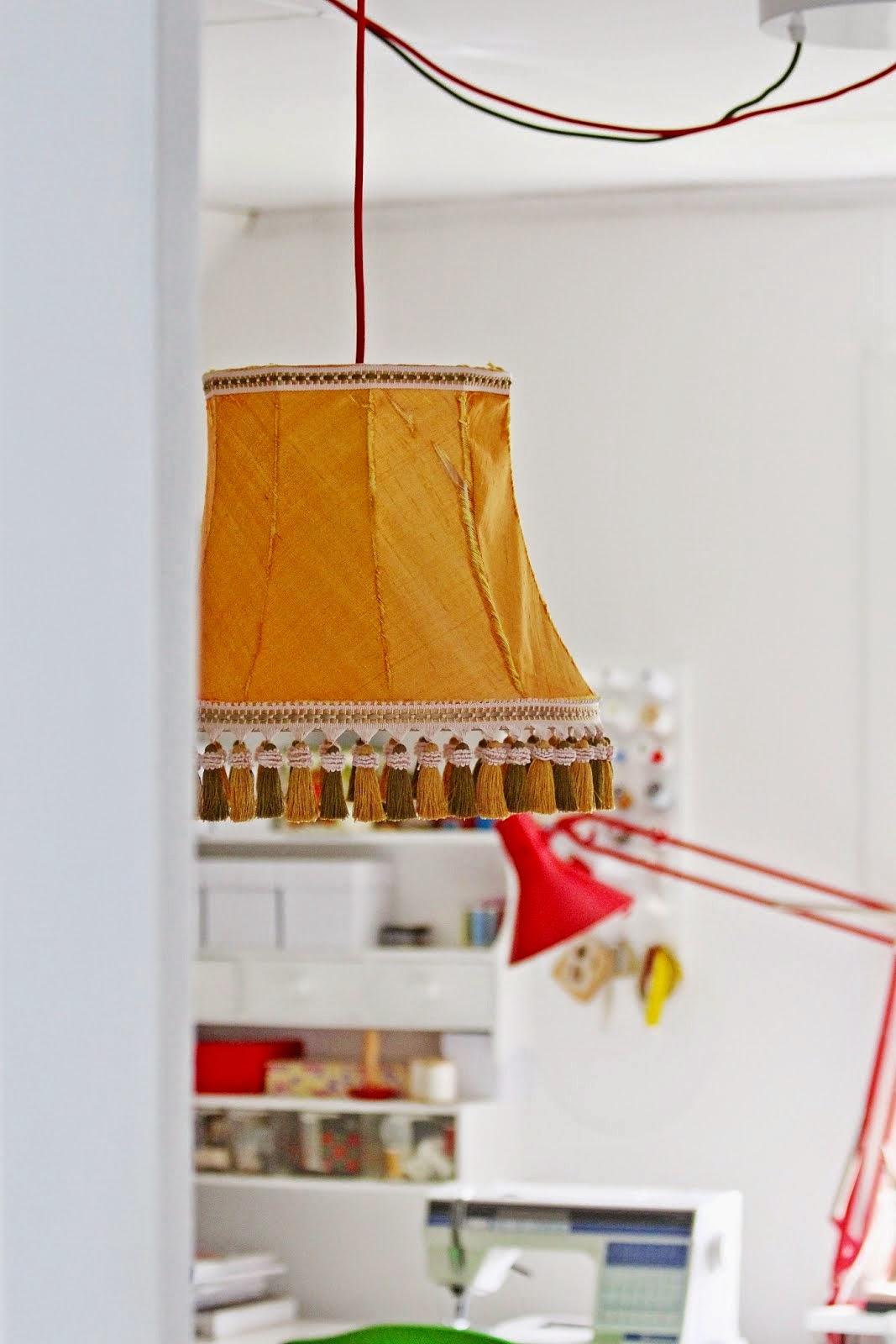 GAMMAL LAMPSKÄRM