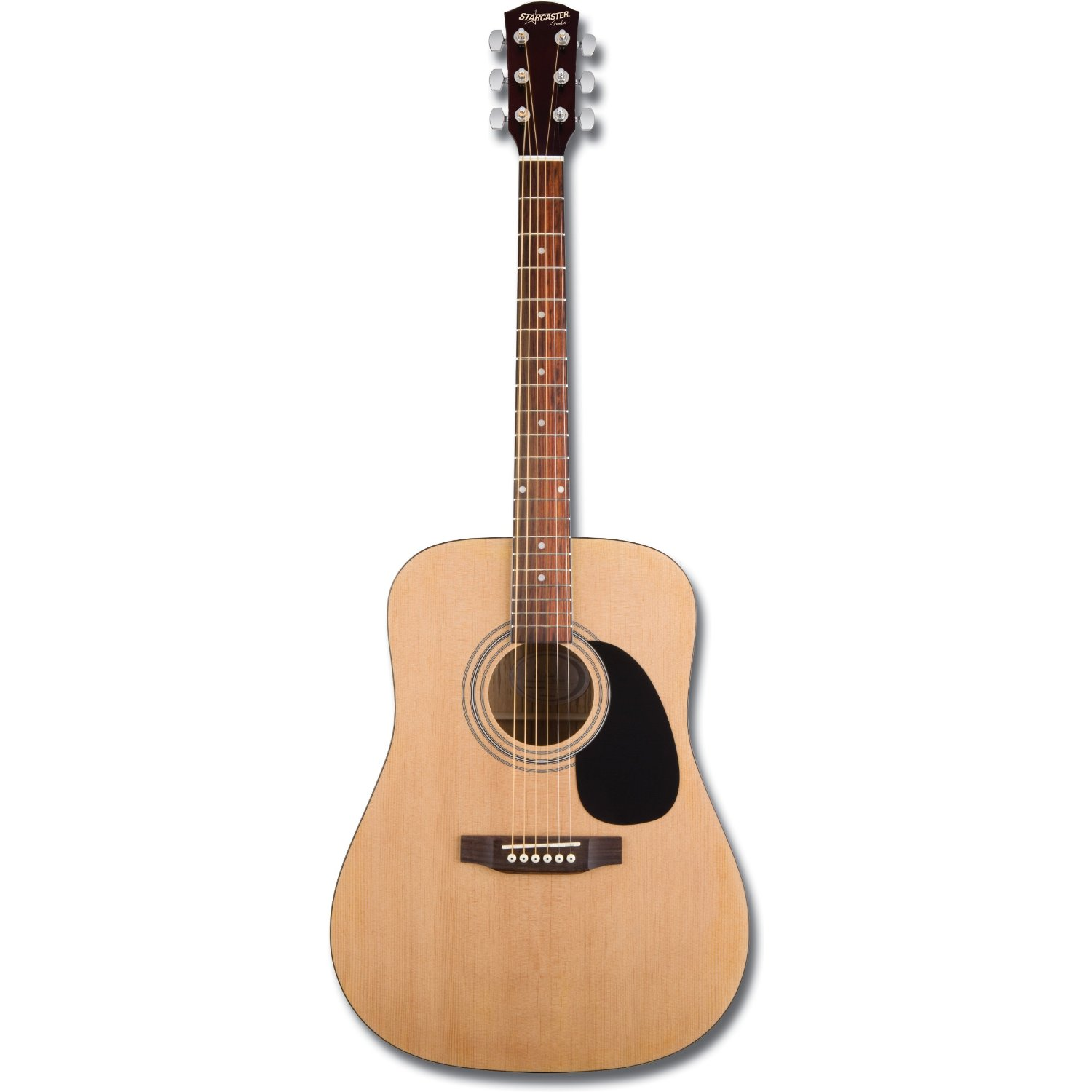 Acoustic Guitar Review: Epiphone DR-100 vs Fender Starcaster Acoustic ...