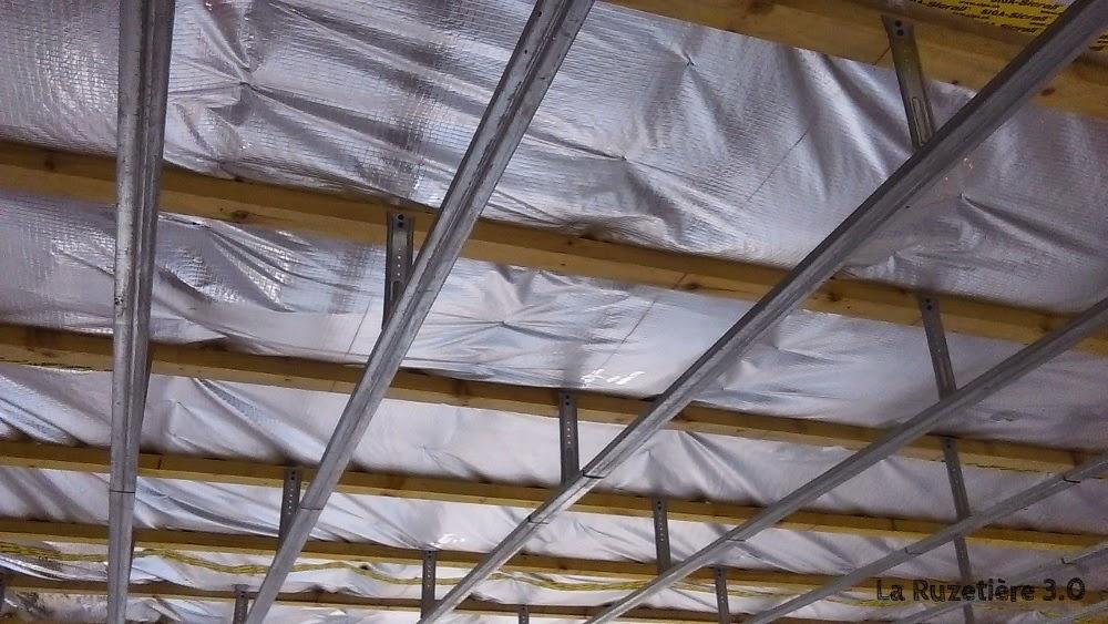 la ruzeti re 3 0 maison ossature bois rt 2012 faux plafond. Black Bedroom Furniture Sets. Home Design Ideas