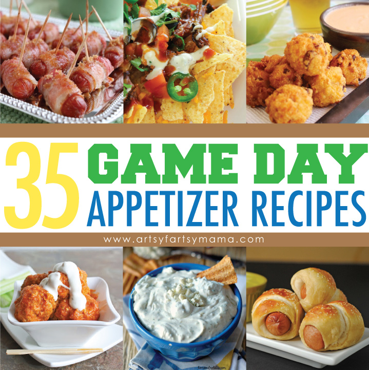 35 Game Day Appetizer Recipes