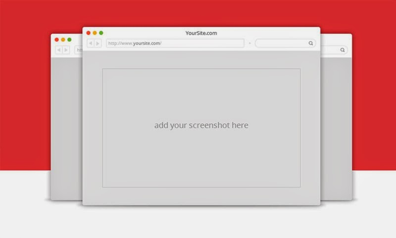 Free Browsers PSD