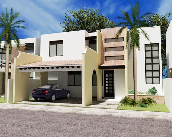 Fachadas de casas modernas diciembre 2011 for Ver fachadas de casas