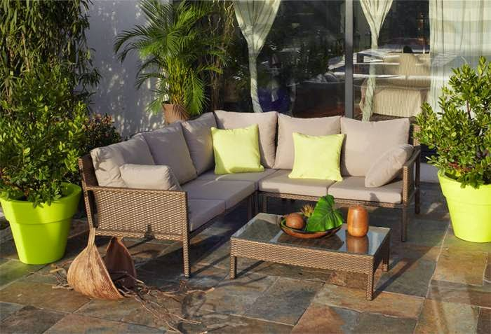 M veis de jardim e exterior leroy merlin decora o e ideias - Mobiliario de jardin leroy merlin ...
