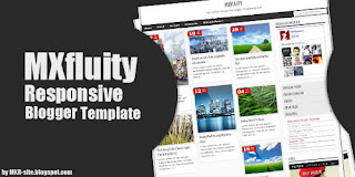 Photograhy Responsive Blogger Template : MXFLUITY