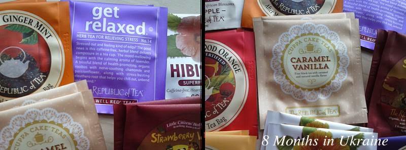 8 Months In Ukraine: Republic of Tea haul