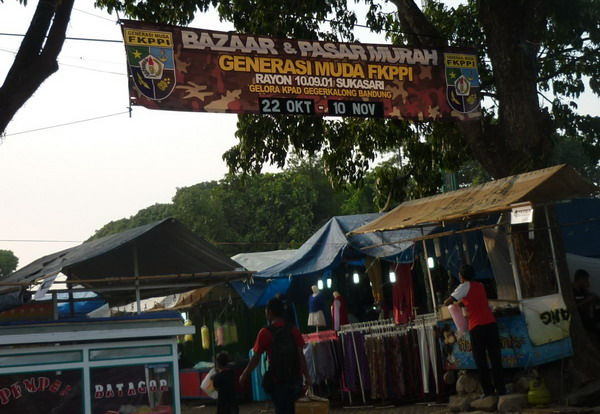 Penyelenggara Bazaar di KPAD Bandung
