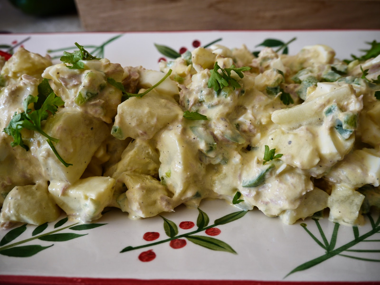 Delicious and healthy potatoes salad by Appetit Voyage